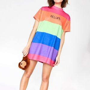 dELiA*s by Dolls Kill Funky Vibrations Oversize T